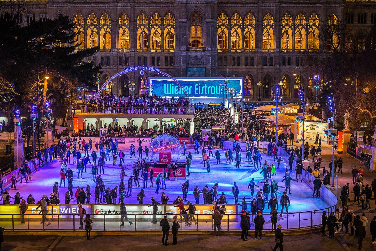 Der Wiener Eistraum am Eröffnungstag