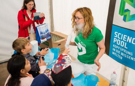 Wissenschaftliches Programm beim Wiener Wasserfest