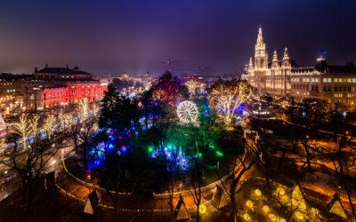 Der Wiener Weihnachtstraum von der Universität Wien aus