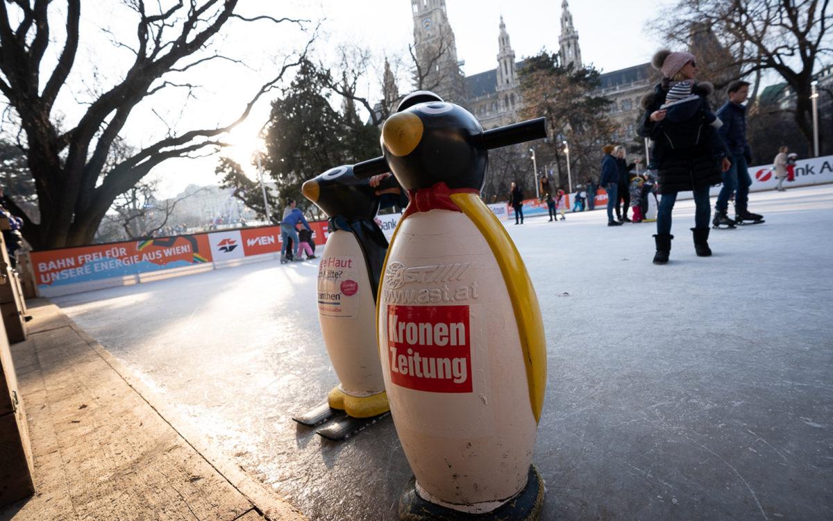 Sponsor beim Wiener Eistraum