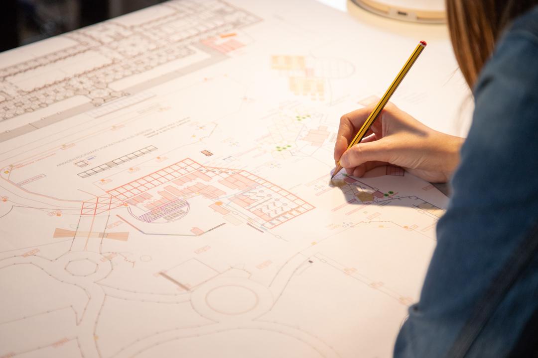 Technische Planskizze