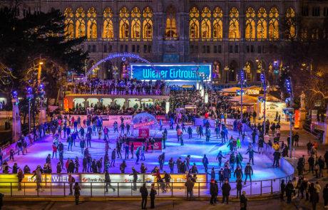 Der Wiener Eistraum vom Burgtheater