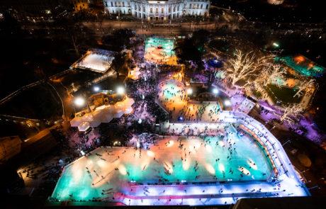 Die Eröffnung des Wiener Eistraums