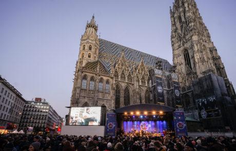 Silvesterpfad 2018, Bühne am Stephansplatz