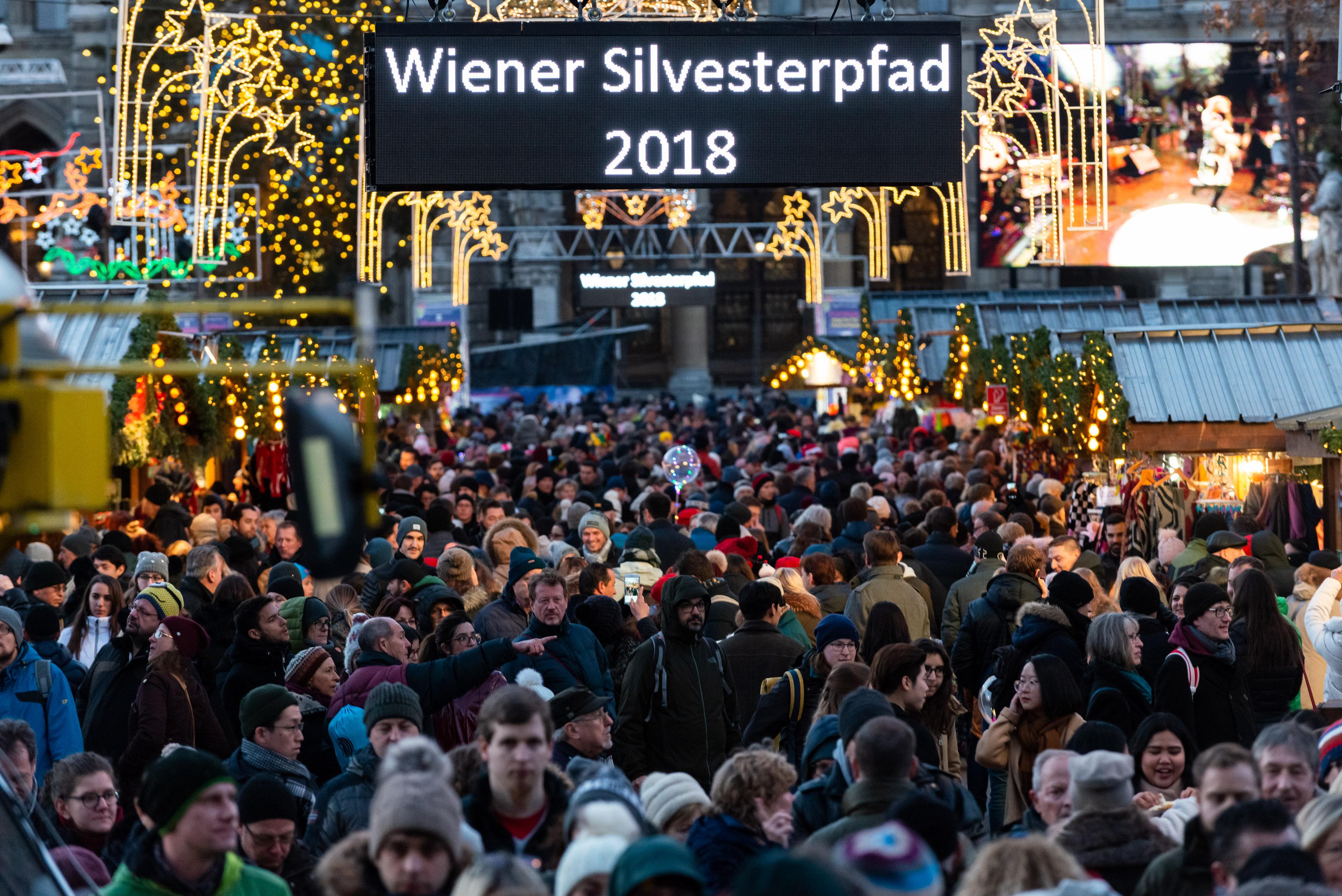 Silvesterpfad Rathausplatz