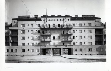 Der Goethehof in einer alten Ansicht